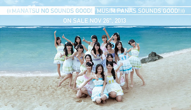 Lirik Lagu JKT48 – Manatsu No Sounds Good! (English Ver) Summer Love