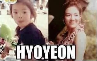 hyo-snsd-childhood