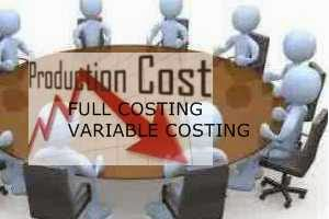 Pendekatan penentuan biaya produksi
